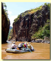 Serenity Gorge on the Omo River