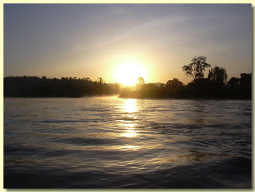 Blue Nile Sunset