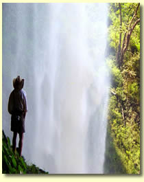 From behind Bruce Falls, Ethiopia
